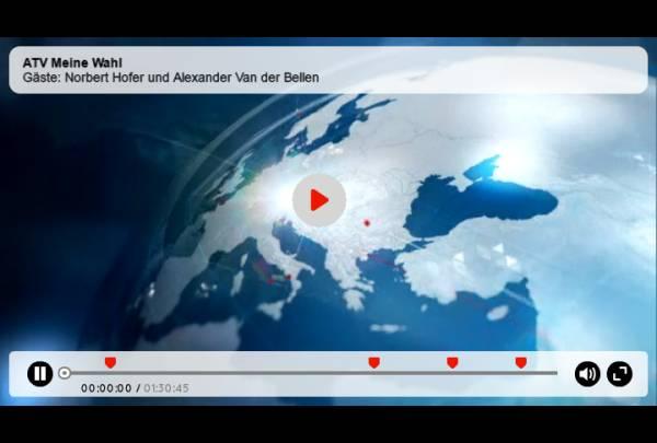 ATV-Duell - Hofer vs. Van der Bellen