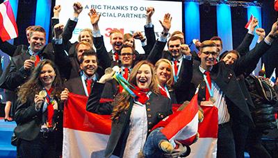 EuroSkills 2016: Österreich ist wieder Europameister