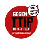 Volksbegehren gegen TTIP